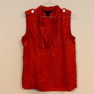 Marc by Marc Jacobs Poppy Red Blouse